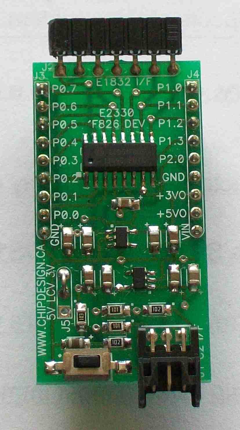 E2330 C8051F805 Development Board